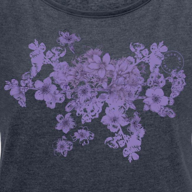 Purple bunch of flowers - Women