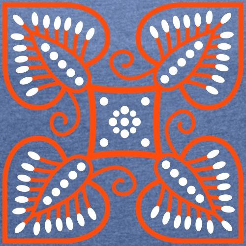 Batik - T-shirt à manches retroussées Femme
