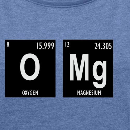 omg - T-shirt à manches retroussées Femme