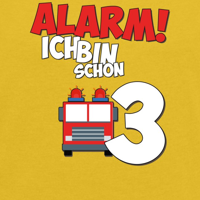 Feuerwehrauto 3. Geburtstag Jungen 3 Jahre