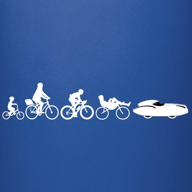 Bicycle evolution white Quattrovelo