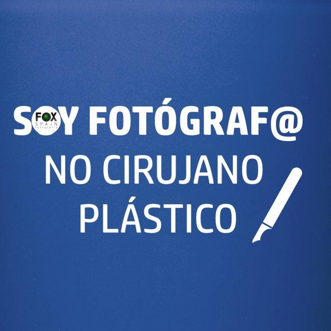 SOY FOTÓGRAFO NO CIRUJANO PLÁSTICO