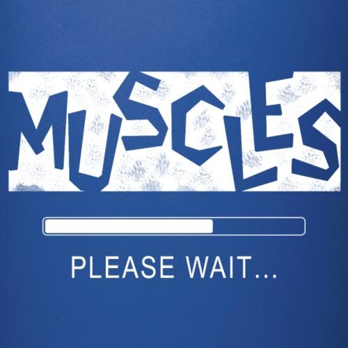 Muscles - Yksivärinen muki