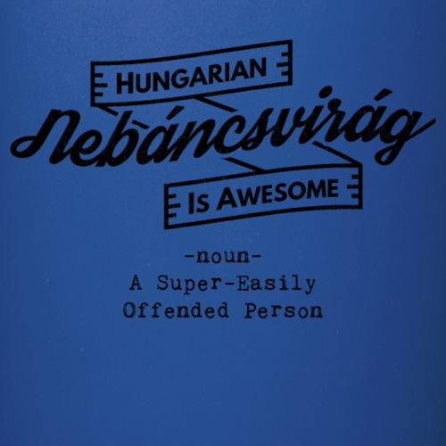 Nebáncsvirág - Hungarian is Awesome (black font) - Full Colour Mug
