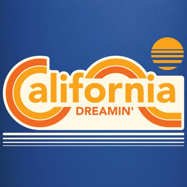CALIFORNIA DREAMIN Tee Shirts