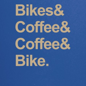 BIKE & COFFEE - Ensfarget kopp
