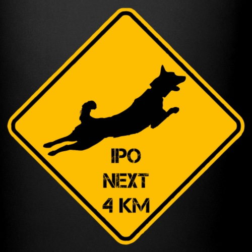Warnschild IPO