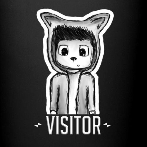 Visitor-Label - Tasse einfarbig
