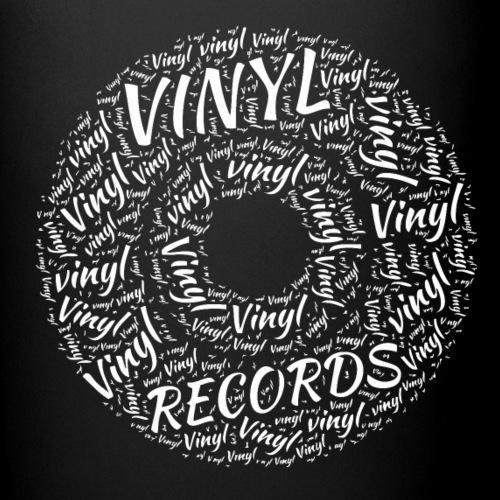 Vinyl Records - Full Colour Mug