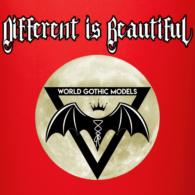 Different is Beautiful with Moon WGM Logo