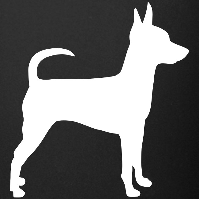 Standing Toy Fox Terrier