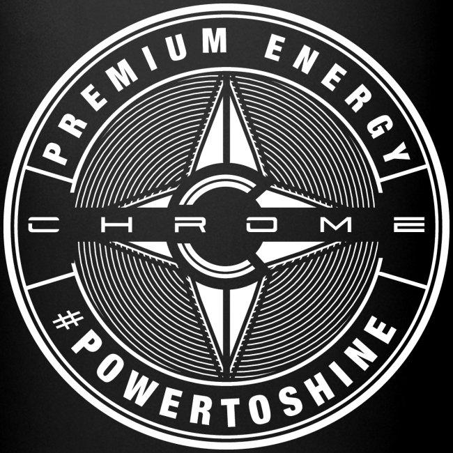 Chrome Logo #powertoshine
