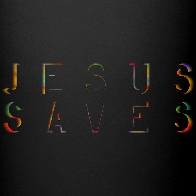 Jesus Saves Farbexplosion