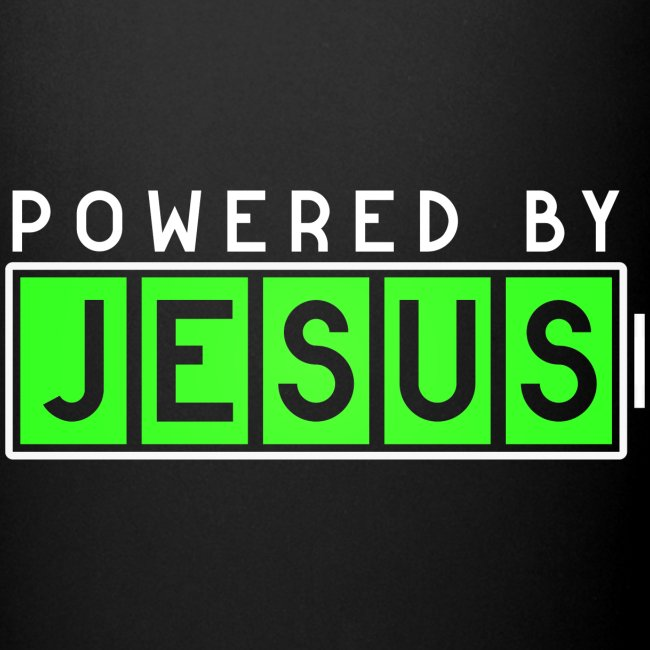 Powered by Jesus