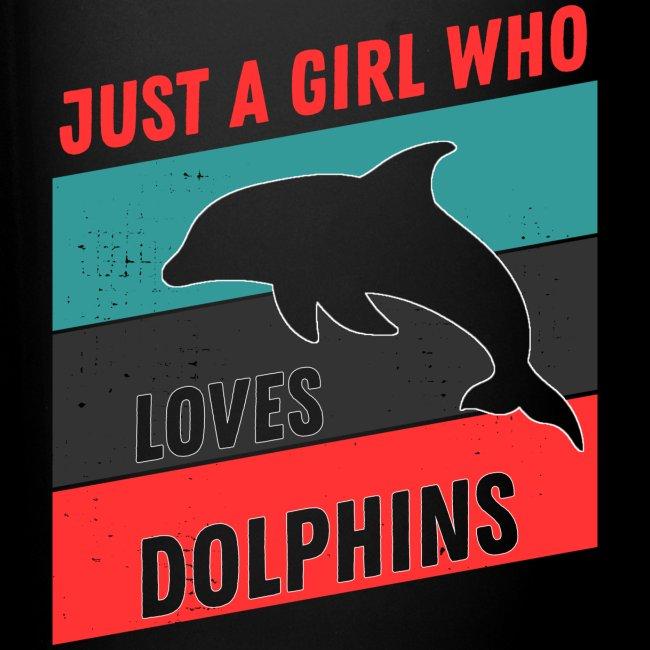 Bara En Tjej Som Älskar Delfiner