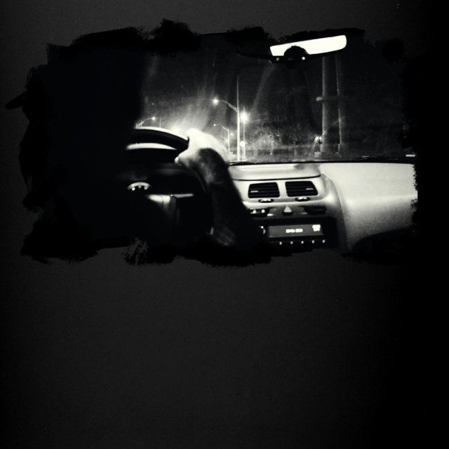 Driving at Night (with white PS logo)