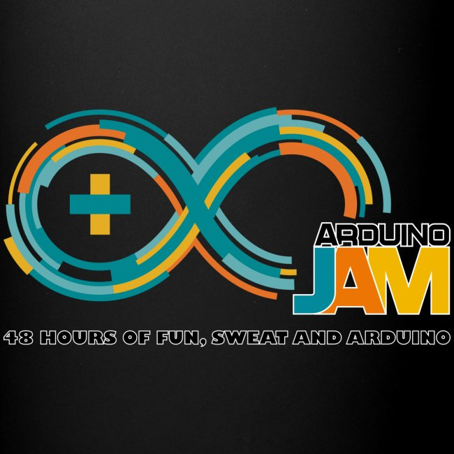 T-shirt front logo Arrduino-Jam