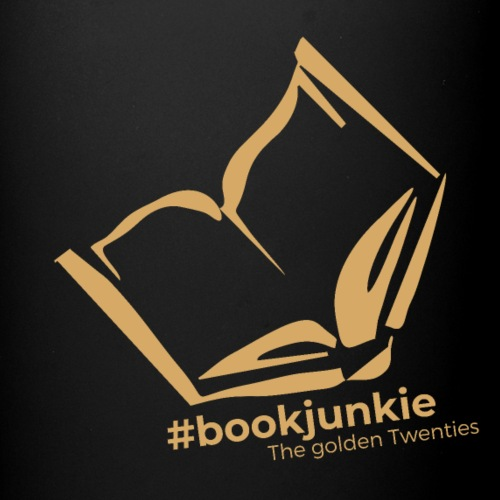 #bookjunkie - The golden Twenties Edition - Tasse einfarbig