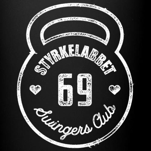 Styrkelabbet Swingers Club - Enfärgad mugg