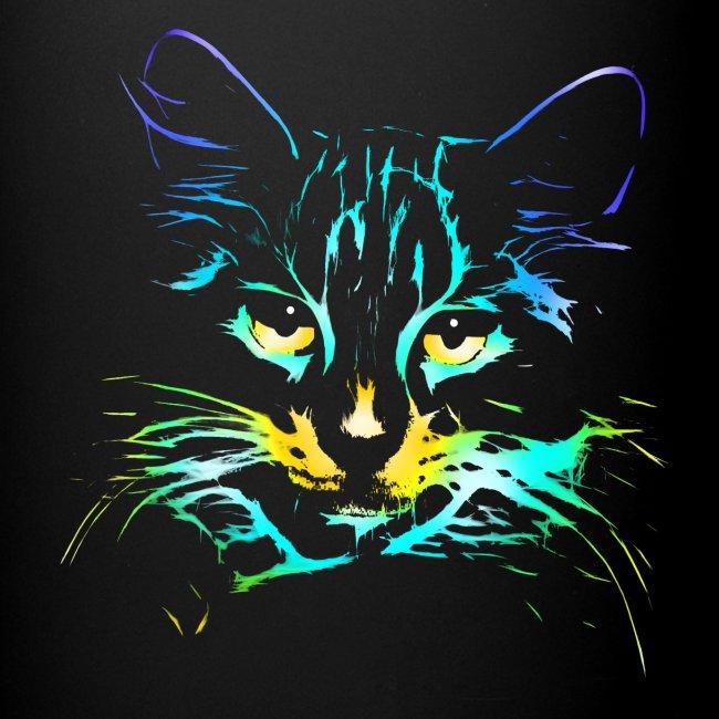 Vorschau: color kitty - Tasse einfarbig