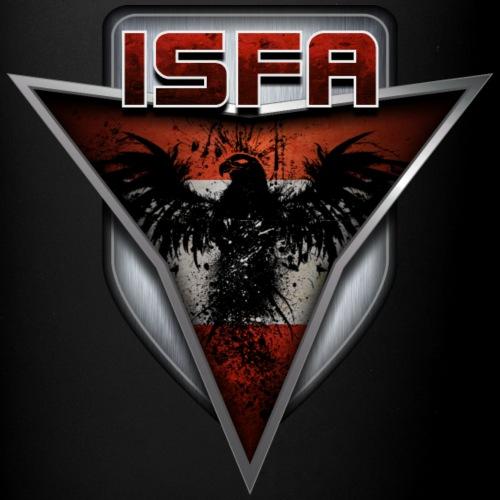 isfa logo abzeichen1 - Tasse einfarbig