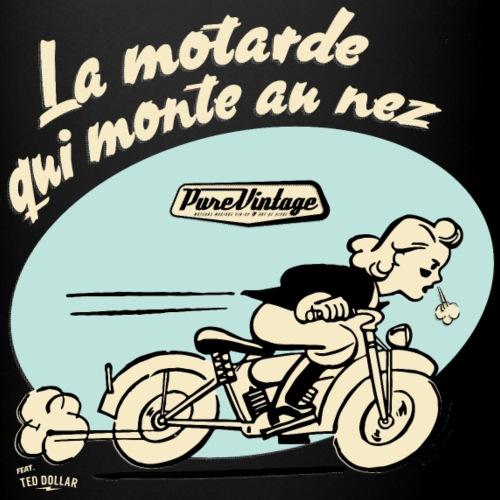 La motarde qui monte au nez - Mug uni