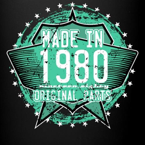 1980 Retro Geburtstag - Tasse einfarbig