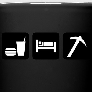 Eat Sleep Dig Rocks - Tazza monocolore