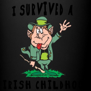 Irish I Survived A Irish Childhood - Full Colour Mug
