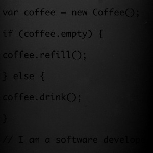 Recharge de café code Javascript - Tasse en couleur