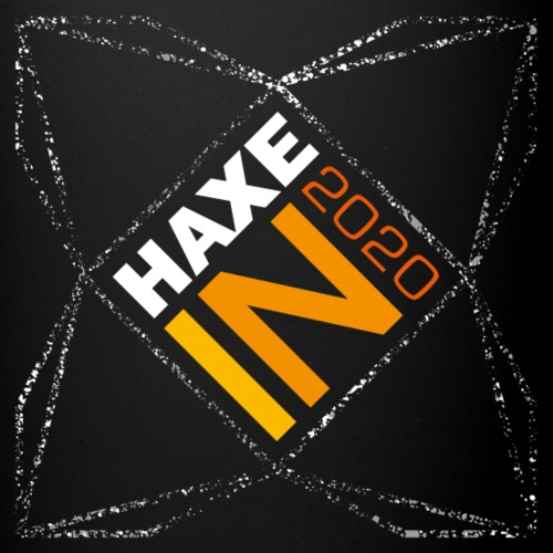 HaxeIN 2020 - Stars Frame - Black Mugs - Mug uni