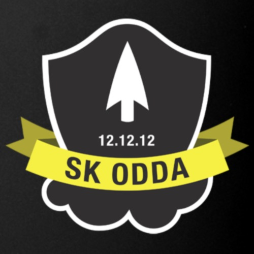 sk odda logo - Ensfarget kopp