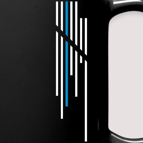 Wortkollektiv Logo Stripes - Tasse einfarbig