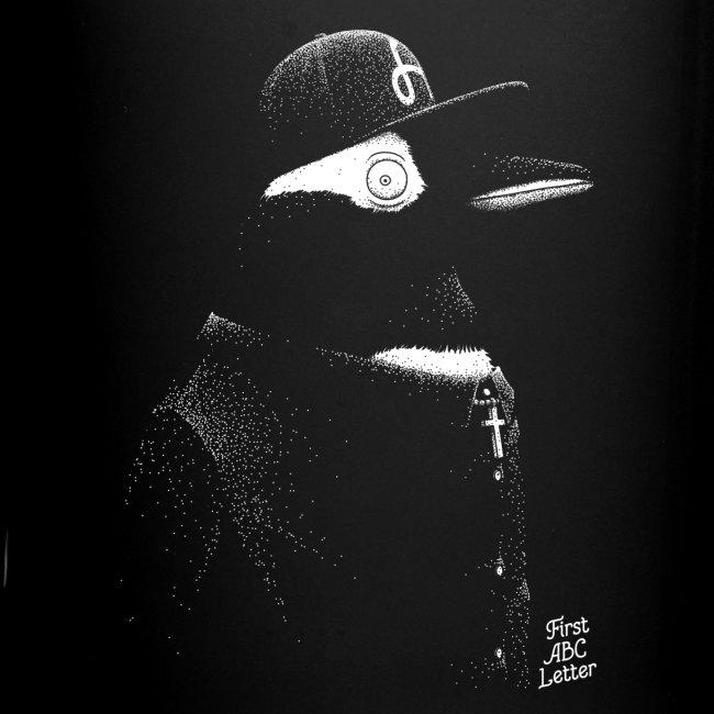 White Penguin dressed in Black
