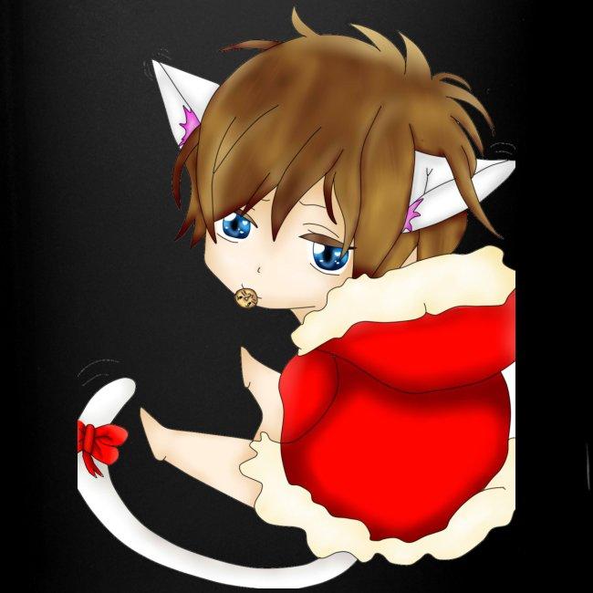 Cute Christmas Fox boy