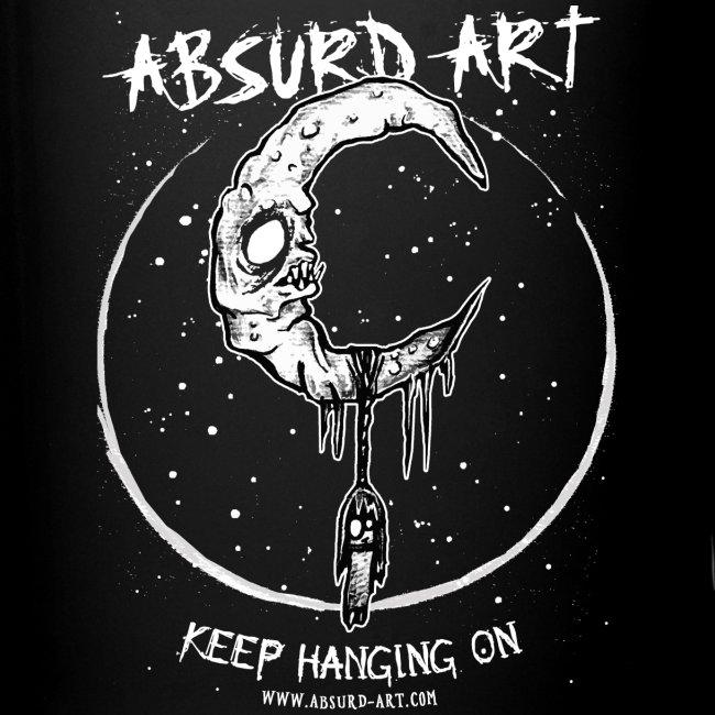 """""""Keep Hanging On"""" von Absurd ART"""
