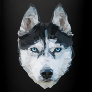 The Husky - Tasse einfarbig