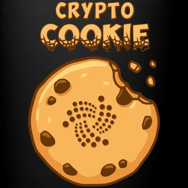 Crypto Cookie - IOTA - BTC, Bitcoin - Keks