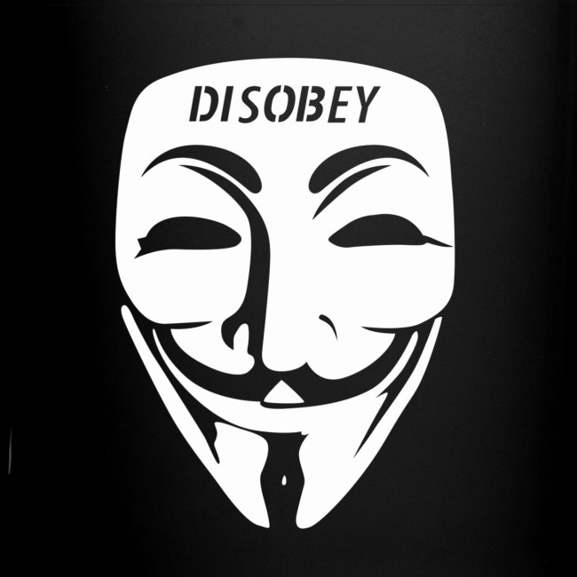 Anonymous Face Disobey Fo