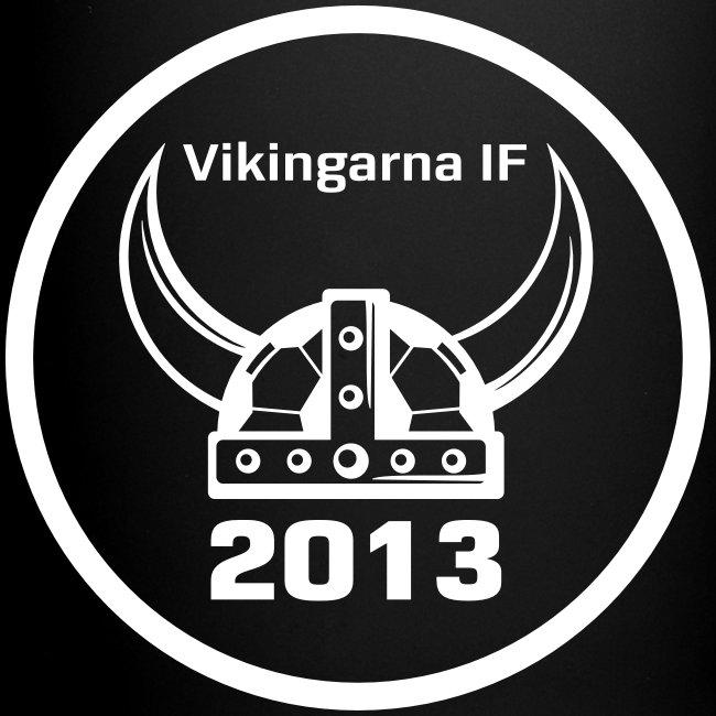 Vikingarna logo hvid