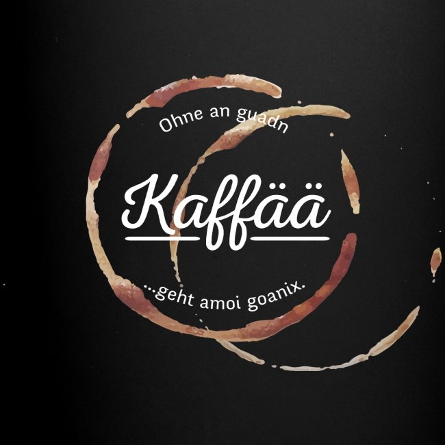 Vorschau: A guada Kaffää - Tasse einfarbig