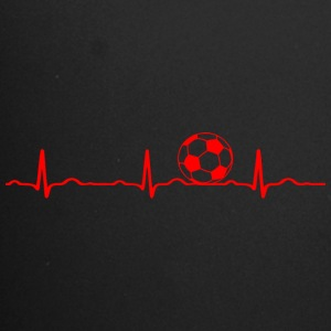 ECG HEARTS football red - Full Colour Mug