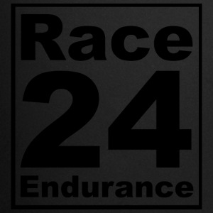 Race24 logo in nero - Tazza monocolore