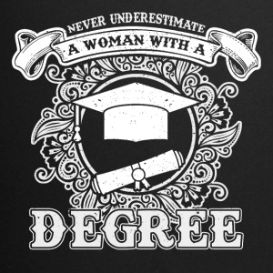 No educated woman - Full Colour Mug