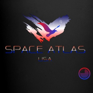 Space Atlas Tee USA - Ensfarvet krus