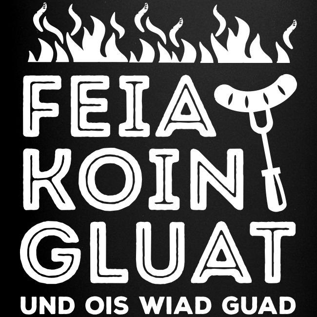 Vorschau: Feie Koin und Gluat - Tasse einfarbig