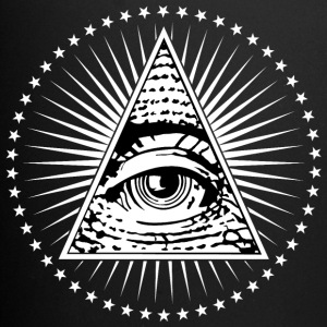 Illuminati Eye of Providence - Enfärgad mugg
