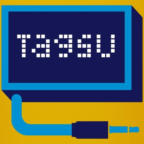 Tagsu logo - Yksivärinen muki