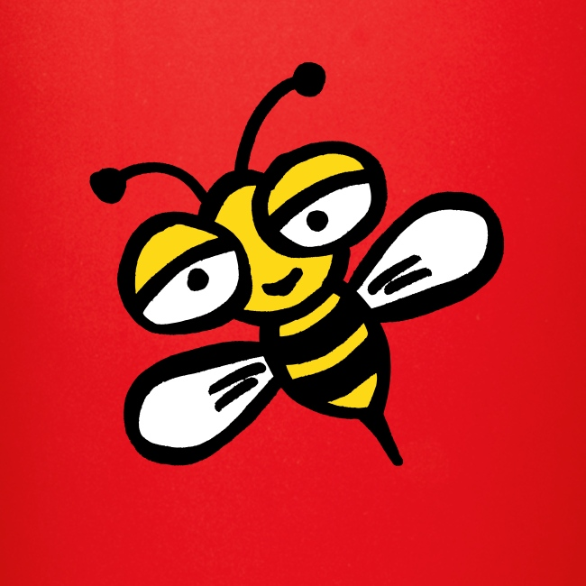 Be happy as a bee or wasp