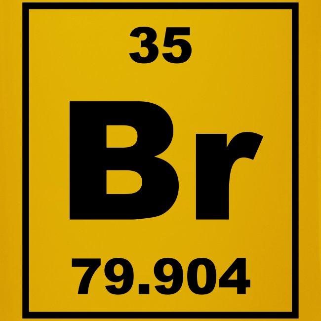 Bromine Br Element 35 Full Colour Mug